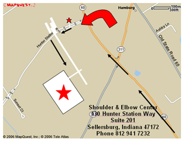 Directions to the Shoulder & Elbow Center